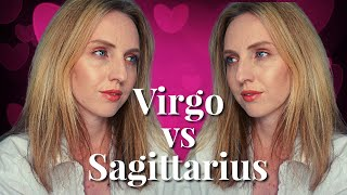 VIRGO VS SAGITTARIUS | Love & Anger Relationship Compatibility | Hannah's Elsewhere
