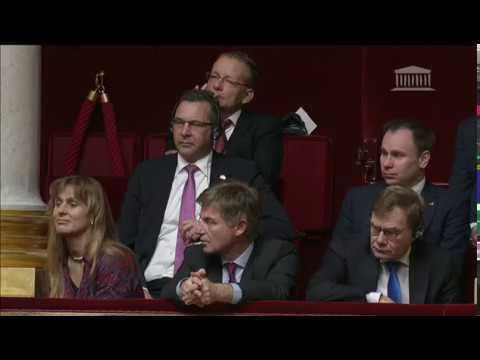 Allocation de Wolfgang Schäuble à l'Assemblée nationale