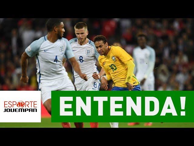 ENTENDA por que amistoso com Inglaterra foi ÓTIMO pro Brasil!