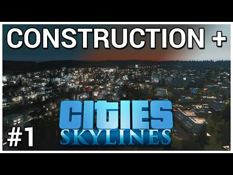 Founding Genericsville = Construction + Cities: Skylines #1