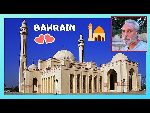 BAHRAIN, the GRAND MOSQUE in MANAMA, one of the largest in the world