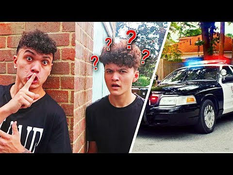 I Spent The Night in my Brothers House & POLICE CAME...