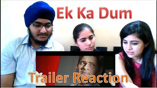 Ek Ka Dum Trailer Reaction | Mahesh Babu
