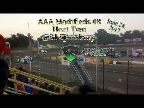 AAA Modifieds #9, Heat, 81 Speedway, 2017