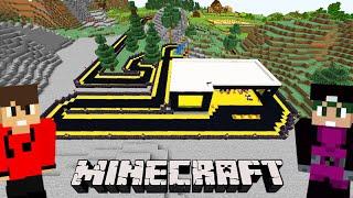 Minecraft: DUPLA SURVIVAL 2.0 - A GARAGEM da PISTA DE KART!!! CONSTRUÇÃO #272
