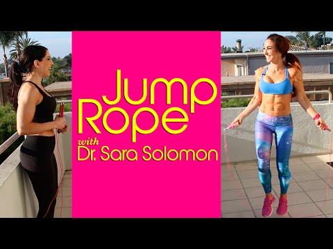 Jump Rope Workout w/ Sara Solomon | Natalie Jill