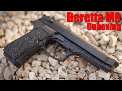 Beretta M9 Unboxing & First Shots