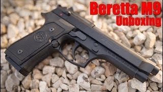 Beretta M9 Unboxing & First Shots