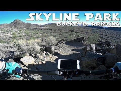 SKYLINE PARK - BUCKEYE ARIZONA - MOUNTAIN BIKE TRAIL