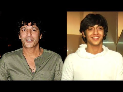 Chunky Pandey's Son Ahaan Looks Exactly Like Him