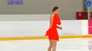 Ksenia TSIBINOVA Senior Ladies Short Program 7 Russian Cup 3rd Stage 2019 11 2