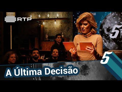 'A Última Decisão' c/ António Manuel Ribeiro, Raquel Strada, Salvador Martinha e Chef Kiko