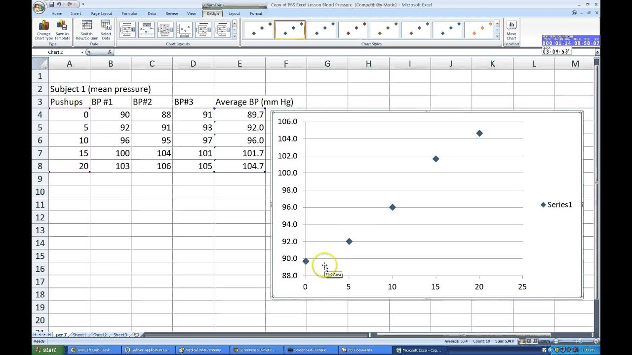 Microsoft Excel: Plotting Multiple Data Series in Excel - YouTube