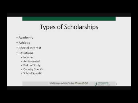 How To Get An International Scholarship