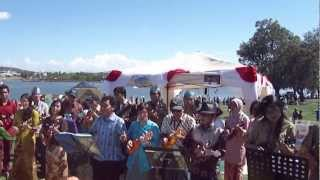 Orkes Ukulele Indonesia - 11 Jamaica Farewell (at One Very Big Day) [Part 11 of 11]