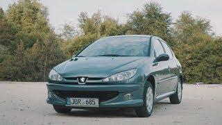 первая машина.Peugeot 206 после 3-х лет эксплуатации