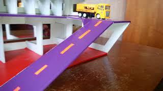 Как сделать детский гараж для машинок своими руками. Часть-2