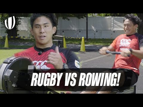 BRUTAL 100m Race! | When Rugby takes on Rowing! | Ultimate Rugby Challenges