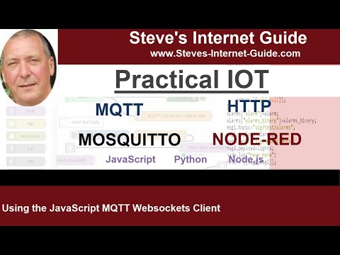 Using the JavaScript MQTT Webscokets Client- Example