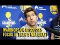 Warriors GM Bob Myers on No  28 NBA Draft pick