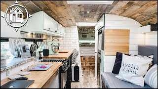 Skoolie Home Conversion & Bus Life Tour During Lockdown 🔒