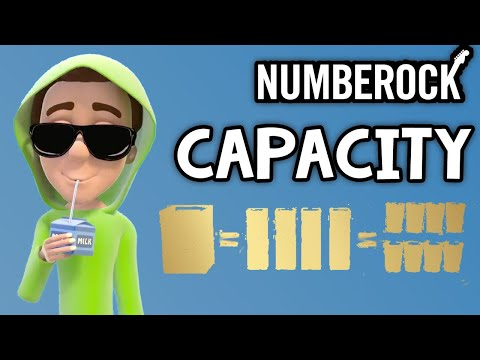 Capacity Song For Kids ★ Measurement   NUMBEROCK