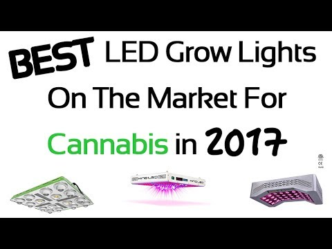 25 Best LED Grow Lights for Cannabis in 2017 - Review and Gu