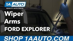 How to Replace Windshield Wiper Arms 06-10 Ford Explorer