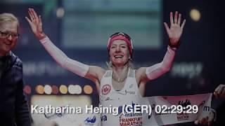 Katharina beste Deutsche beim Mainova Frankfurt Marathon