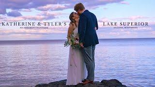 Beautiful Lake Superior Wedding Video | Katherine & Tyler's