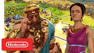 Sid Meier's Civilization VI - Expansion Bundle Launch Trailer - Nintendo Switch