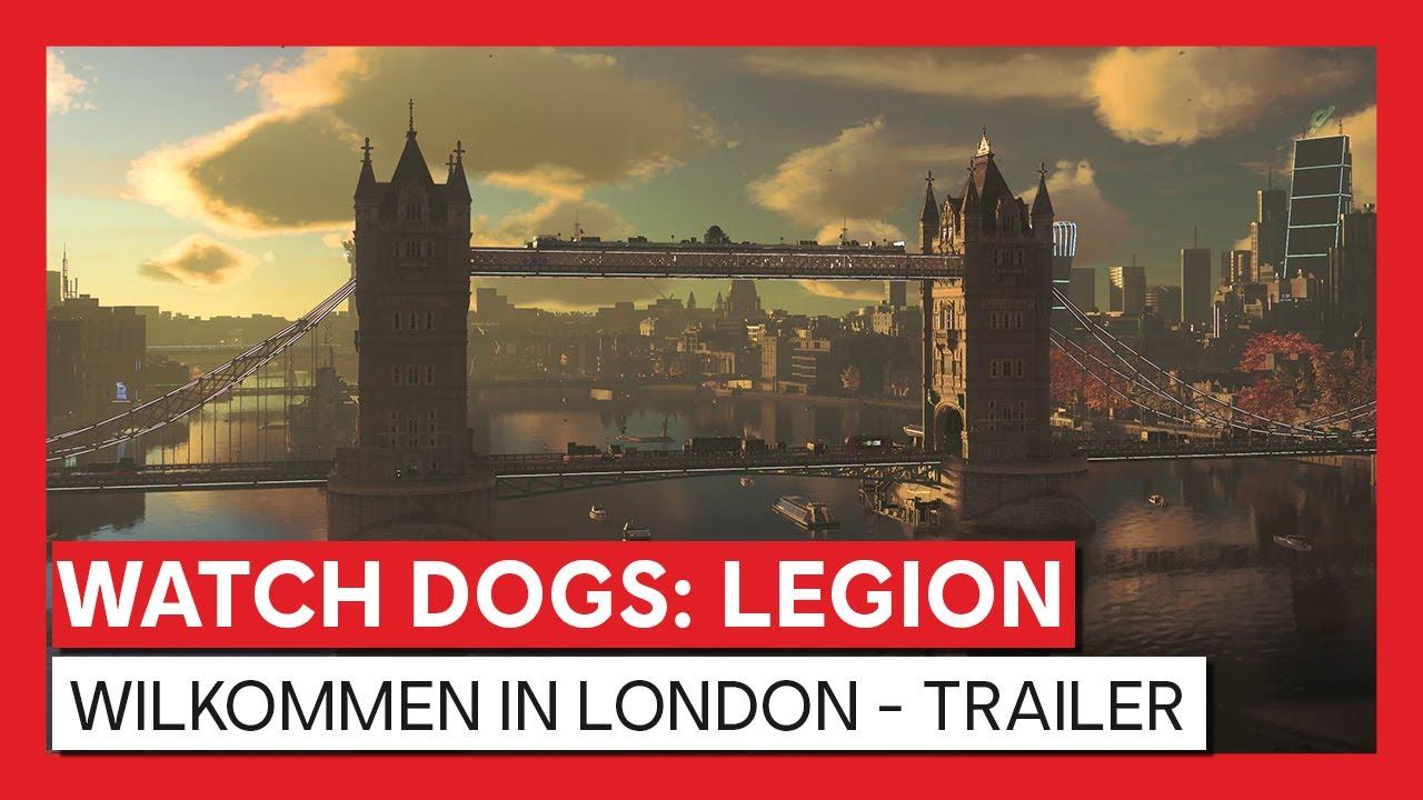 Watch Dogs: Legion - Willkommen in London - Trailer | Powered by NVIDIA GeForce RTX