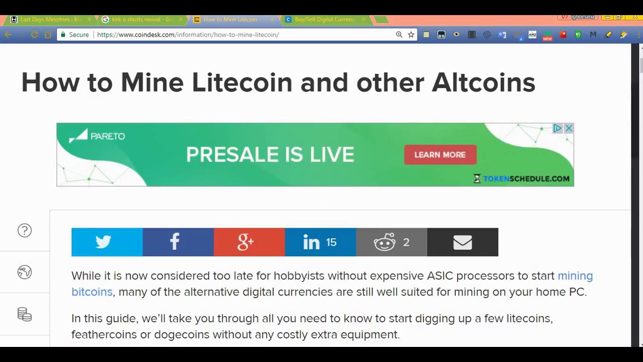Using Gdax To Short Bitcoin Mining Litecoin On Claymore Miner – PEC