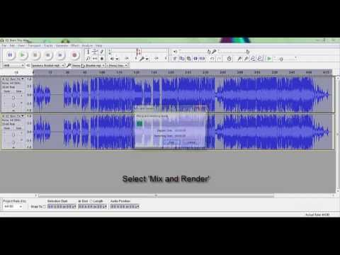 How To Extract The Backing Vocals Of A Song In Audacity