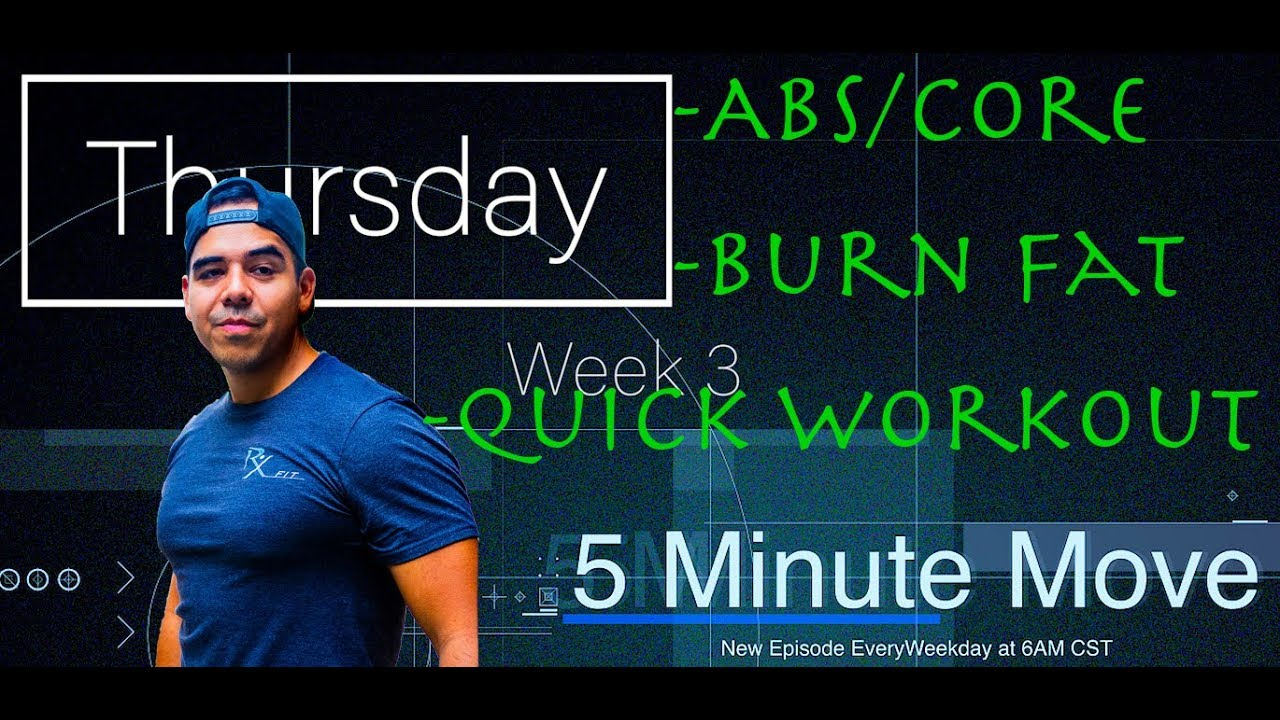 Abs/Core - Kettlebell - 5 Minute Move - Thursday