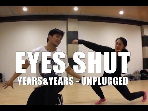 audrey moreno | eyes shut (unplugged) - @YearsAndYearsVEVO