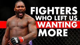 10 Retired MMA/UFC Fighters That Left Us Wanting More
