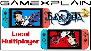 Bayonetta 2 on Nintendo Switch to Include Local Multiplayer