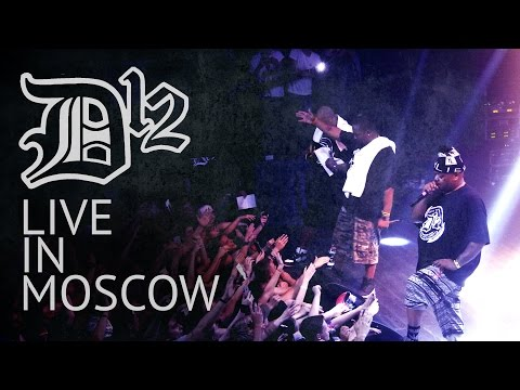 D12 - Live in Moscow(2015)HD