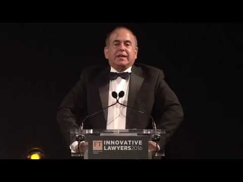 Predicting the Future of Legal Innovation - Speech from 2016 FT Innovative Lawyers European Awards