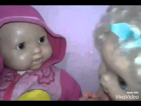 Minha Baby Alive Luna briga por uma boneca - YouTube
