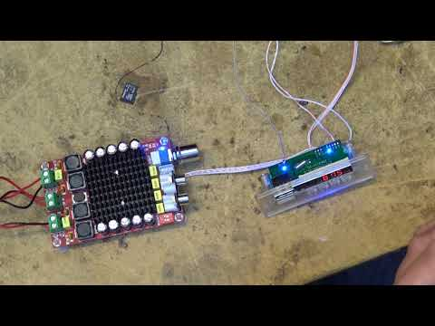 MP3 decoder with FM radio board demo