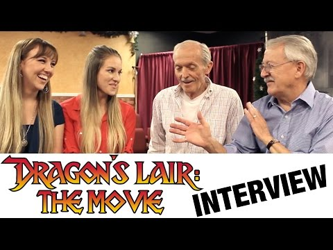 'Dragon's Lair: The Movie' Indiegogo - Interview with Don Bluth & Gary Goldman | Rotoscopers