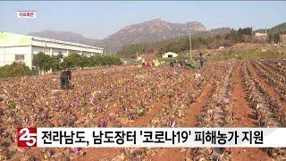 전라남도, 남도장터 ′코로나19′ 피해농가 지원