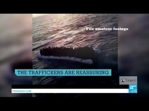 Our report into how trafficking migrants to Europe works