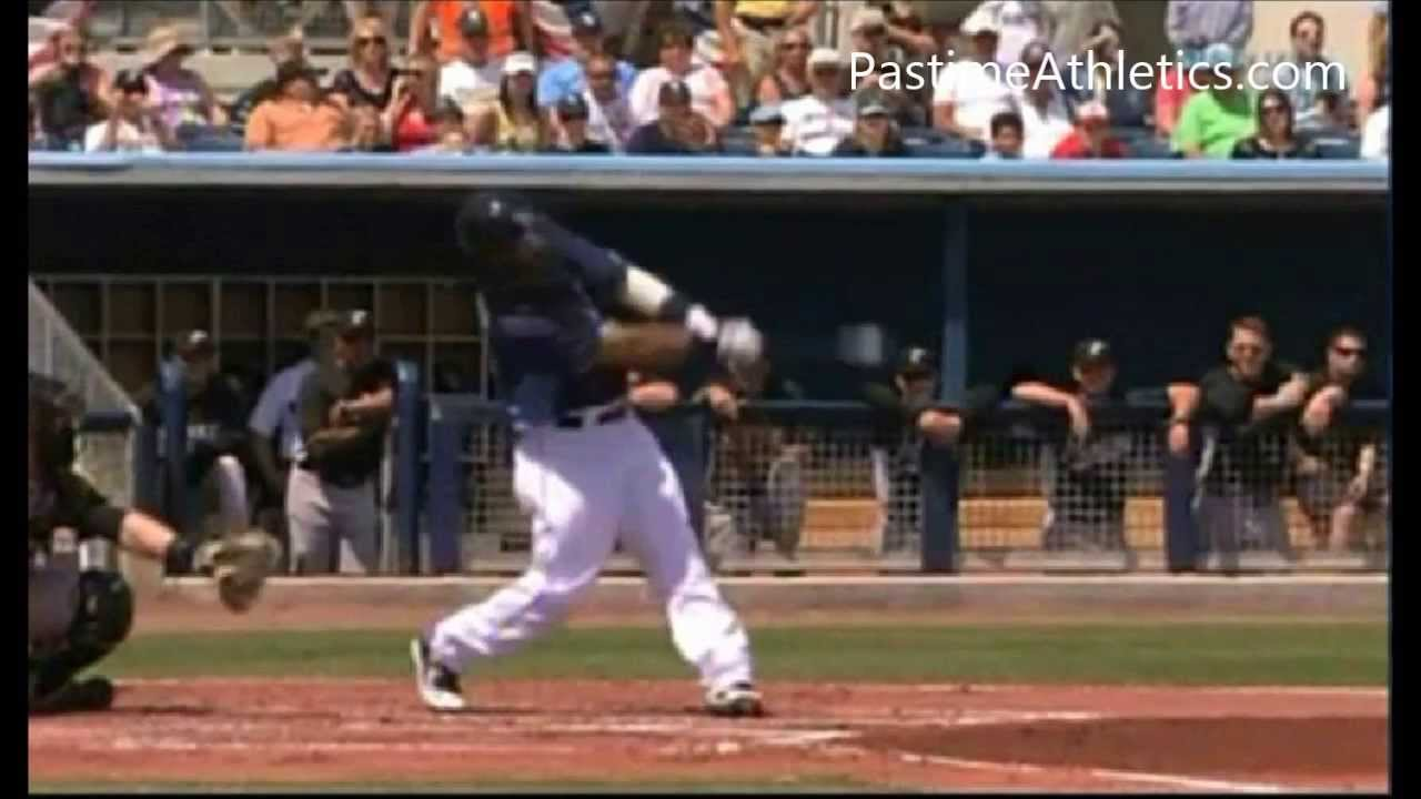 Slow Motion Baseball Swing >> Manny Ramirez Home Run Baseball Swing Hitting Mechanics Instruction Slow Motion MLB - YouTube