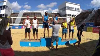 Финал и награждение. Пляжный волейбол, чемпионат России, мужчины 40+.