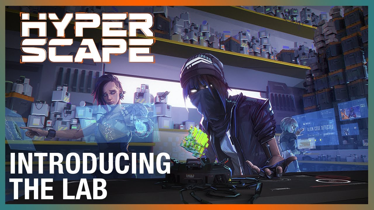 Hyper Scape: Introducing the Hyper Scape Lab | Ubisoft