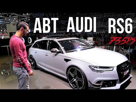 ABT Audi RS6 120 Jahre Edition Genfer Autosalon  | Daniel Abt