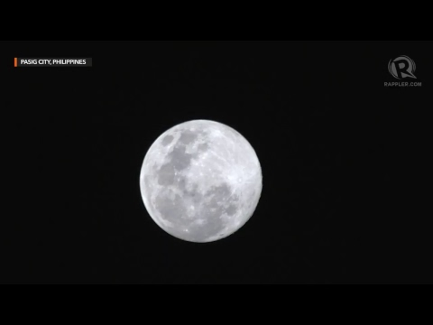 LIVE: Supermoon | March 20, 2019
